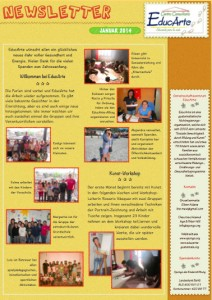 Newsletter Jan. 2014