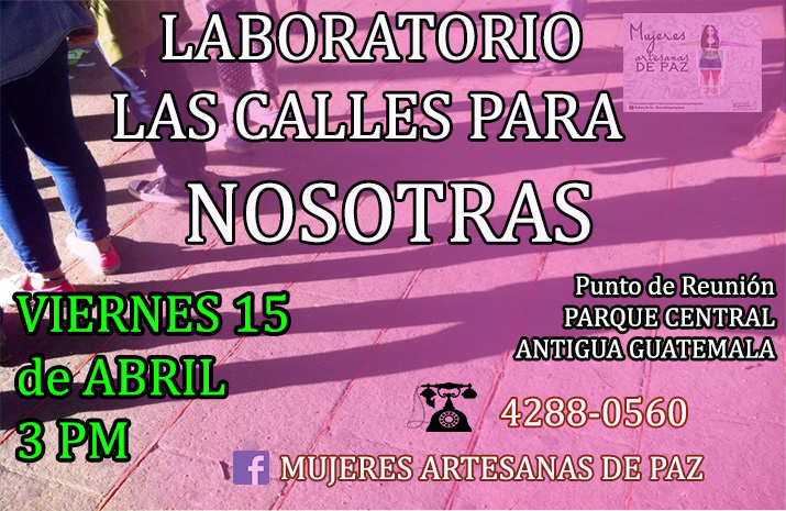 afiche LABORATORIO 15 abril